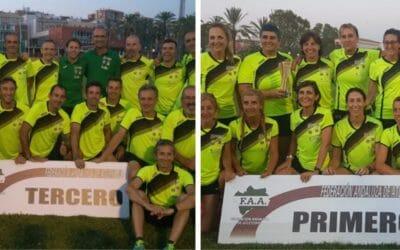 Las chicas del Playas, campeonas de España en categoría Máster; los chicos, terceros