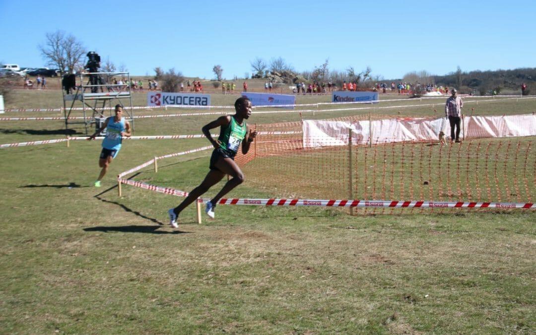 Thierry Ndikumwenayo se impone en el campeonato de España de cross